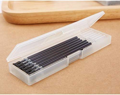 Doraking 12PCS 0.5mm Nibs Black Gel Ink Pen Refills with Case for DORAKING Gel Pens Finepoint Pens