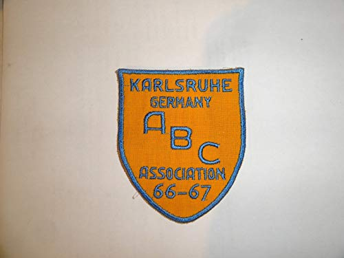 Buy vintage bowling patches abc