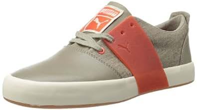PUMA Men's EL Ace 3 Wool Sneaker,Fallen Rock/Cherry Tomato,12 D US