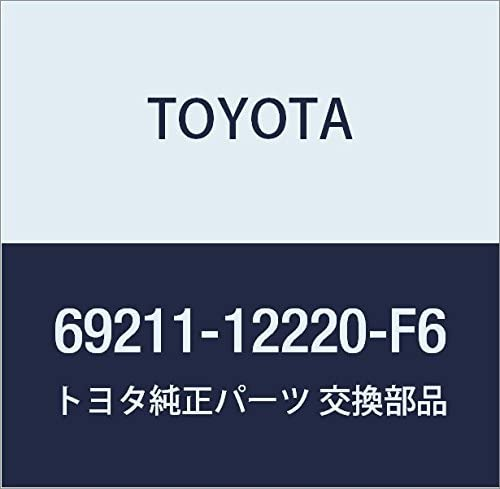 Genuine Toyota 69211-12220-F6 Door Handle Assembly