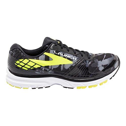 lime 3 Running Launch Brooks Men's Shoe Black qOw6F8x4