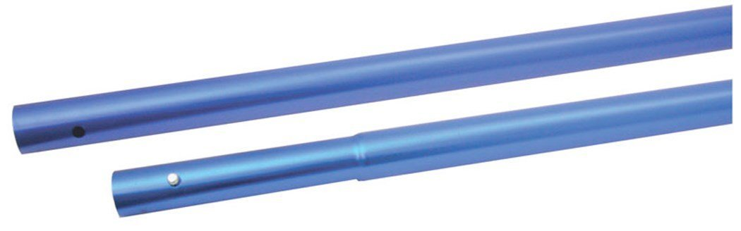 Marshalltown 14258 72'' x 1-3/8'' Aluminum Push Button Float Handles - Quantity 8 by Marshalltown