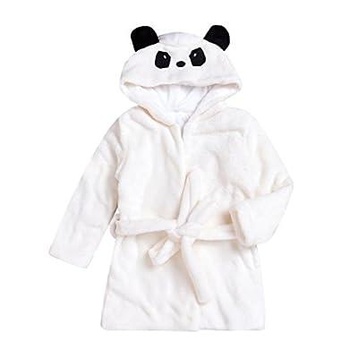 Nevera Baby Bathrobe Boys Girls Robe Cartoon Panda Towel Pajamas Dress Clothes