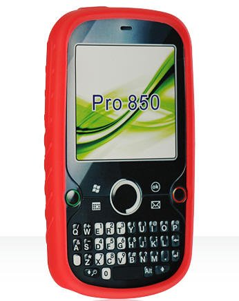 Red Silicone Cover for Palm Treo Pro Protector Case (Treo Pro Silicone Palm)