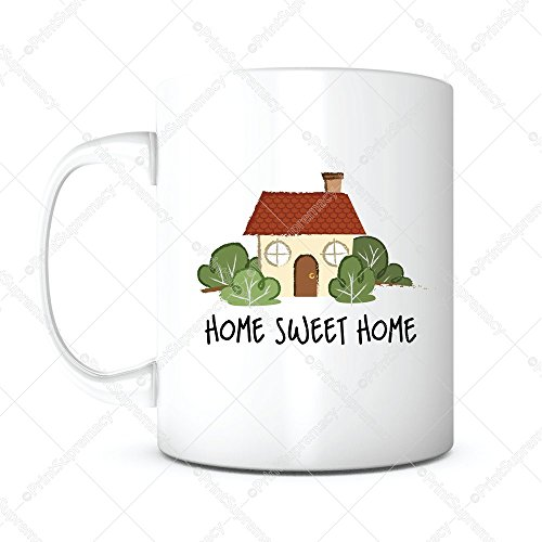 Home Sweet Home Mug - Home Sweet Home-Home Owner Mug,Housewarming Gifts,Housewarming Coffee Mug,New Home Gift,Newlyweds Gift,Mother's Day Gift,New House Gift,New House Mug,Real Estate Gift,Gift for Mom,New Neighbor Gift