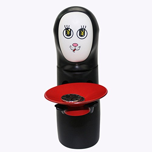 New Cute Anime No-Face Man Kaonashi Spirit Coin Bank Figure