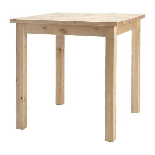 Ikea Norden Table Birch 74x74 Cm Amazon Co Uk Kitchen Home