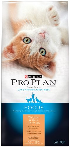 Purina Pro Plan Dry Kitten Food, Chicken and Rice Formula, 7-Pound Bag, My Pet Supplies