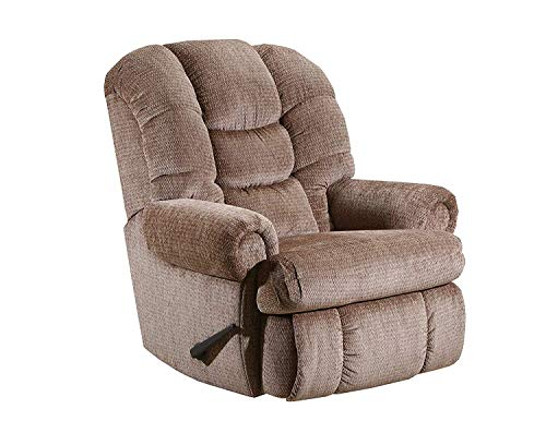 (1407L (Walnut) Item Lane Stallion Big Man (Large) Wallsaver Comfort King Recliner, Rated for Weights of up to 500 lbs. Seat Width 25