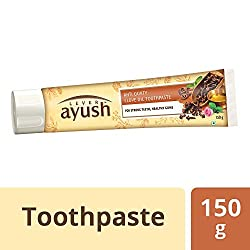 Lever Ayush Anti Cavity Clove Oil Toothpaste - 150 grams - 5.03 oz - India