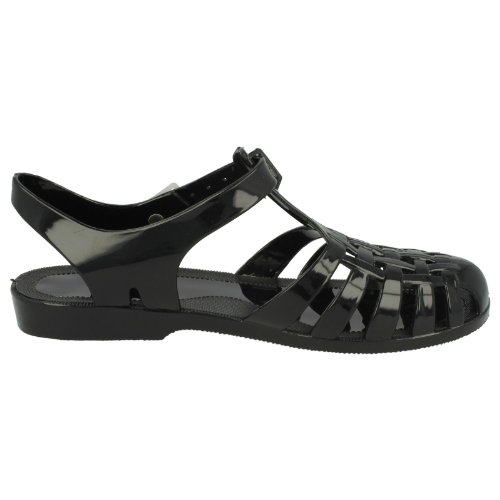 Jelly Spot On F0711 Ladies Shoe Black xnw0fYYpqC
