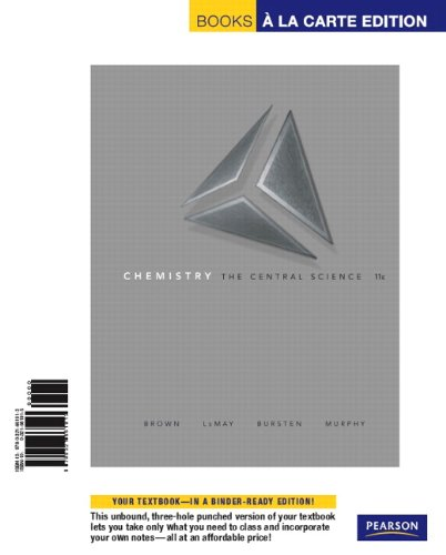 Chemistry: The Central Science, Books a la Carte Edition