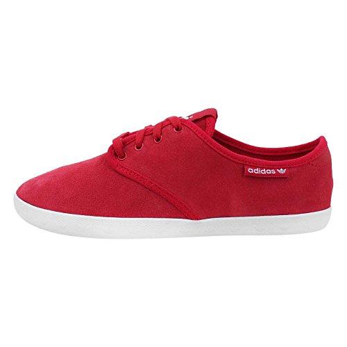 BH1 adidas Adria PS W Damen Sneaker Leder Schuhe Rot D67892 Gr. 38