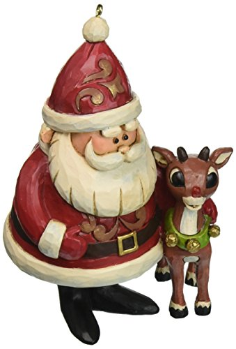 "the Red-Nosed Reindeer"" Traditions, 50th Anniversary Stone Resin Ornament, 4.25"