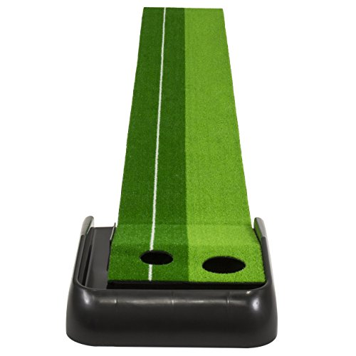 Best Choice Products Indoor Training 8 Ft. Golf Practice Putting Green Mat W/Ball Return by Best Choice Products (Image #1)