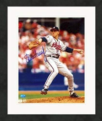 Steve Avery autographed 8x10 photo (Atlanta Braves, 1995 World Series Champion) #3 Matted & Framed - Autographed MLB Photos