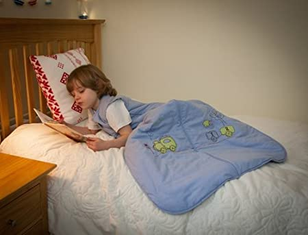 Fire Engine 18-36 months//110cm Slumbersac Summer Toddler Sleeping Bag 1 Tog
