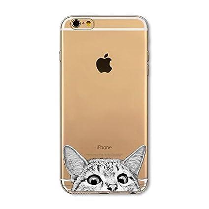Amazon.com: iPhone 6/6S, TPU Ultra Slim Carcasa de silicona ...