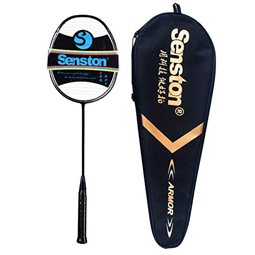 Senston Badminton Racket Set Badminton Racquets with Racket Cover
