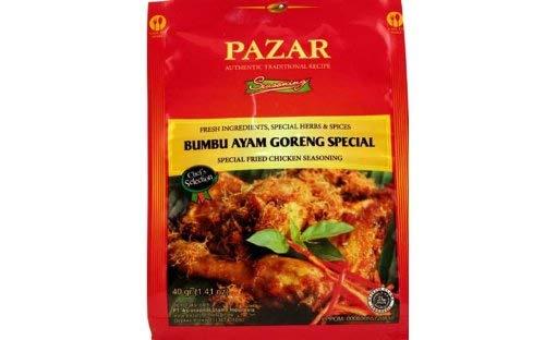 Bumbu Ayam Goreng Special (Special Fried Chicken Seasoning) - 1.41 Oz [Pack of 1]