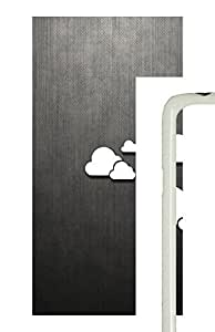 Samsung Galaxy S5 Patterns abstract clouds PC Custom Samsung Galaxy S5 Case Cover White