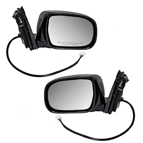 Lexus Rx330 Suv - Driver and Passenger Power Side View Mirrors Heated and Memory Replacement for Lexus SUV 879400E011C0 879100E011C0 AutoAndArt