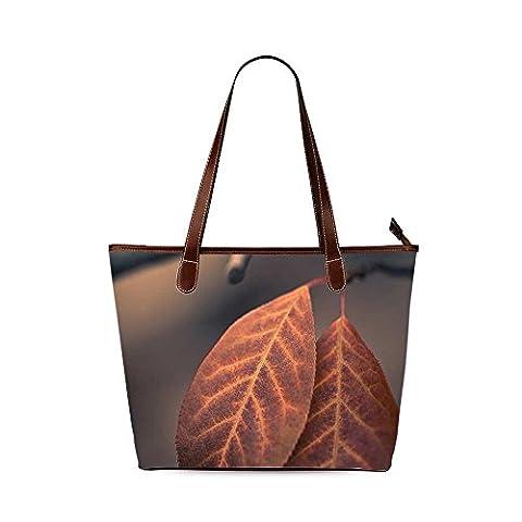 Tree leaves Custom Interest Print Tote Bag - Earthway Bag Seeder