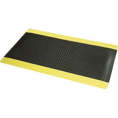 - NoTrax Cushion Trax Ultra Floor Mat - 2ft. x 3ft, Black/Yellow, Model# 975S0.
