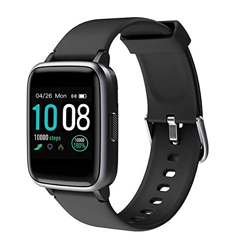 2019 New Smart Watch for Android iOS Phones, Activity Fitness Tracker Health Exercise Smartwatch Pedometer Heart Rate Sleep Monitor IP68 Waterproof Compatible with Samsung Apple iPhone for Men Women (Best Note App For Android 2019)