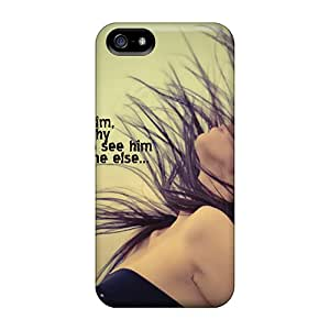 Premium UIM24813KVcJ Cases With Scratch-resistant/ I Love You Cases Covers For Iphone 5/5s
