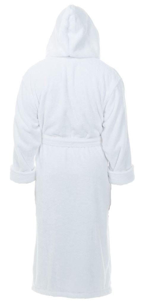 6243e1602c Adore Home Kids 100 % Cotton Bathrobe Hooded White Terry Towelling Shawl  Collar Bath Robe