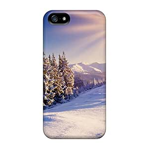 Iphone 4/4s Winter Tpu Silicone Gel Case Cover. Fits Iphone 4/4s