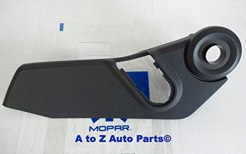 NEW 2007-2012 Jeep Patriot & Compass DRIVERS SIDE Outer Seat Trim Panel (Driver Side Seat)
