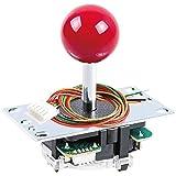 Sanwa JLF-TP-8YT Original Joystick Red - for Arcade