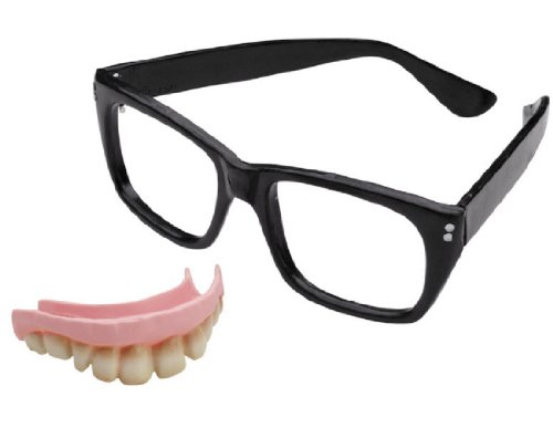 Austin Powers Costume Kit with Glasses and (Austin Powers Costume Accessories)
