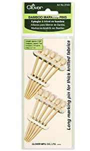 Bamboo Marking Pins 10-Per Package Approximately 2-3/4-Inch