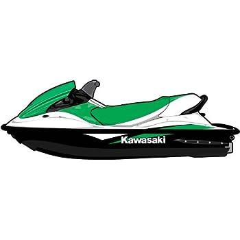 Amazon com: Exotic Signs Kawasaki STX-12F, 15F Graphic Kit