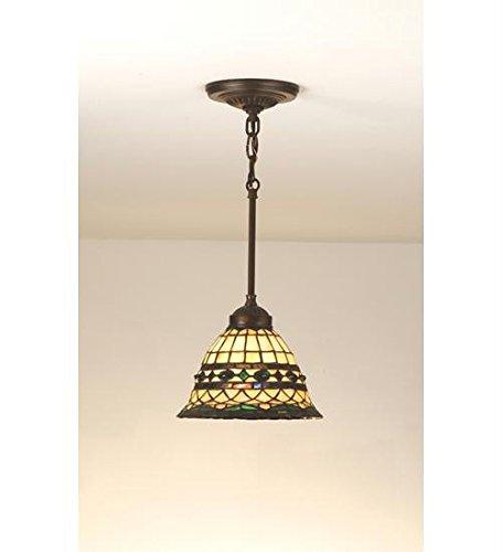 1-Light Tiffany Roman Mini Pendant
