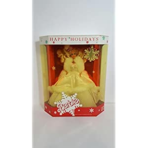 Mattel 1989 Happy Holidays Barbie