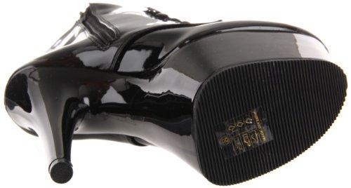 Adore Pleaser M Women's Black Black Patent 1020 B Boot 5RpPq
