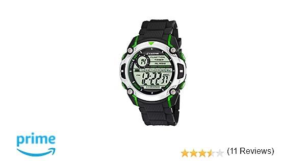 bb2abdadc044 Calypso watches - Reloj digital de cuarzo para niño con correa de caucho