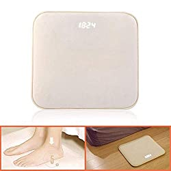 KOBWA Rug Alarm Clock for Heavy Sleepers, Pressure Sensitive Carpet Alarm Clock Only Stops When You Stand on It - Digital Display/Custom Ringtone/Softest Touch