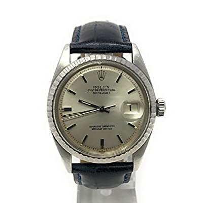 Rolex Datejust swiss-automatic mens Watch 1603 (Certified Pre-owned)