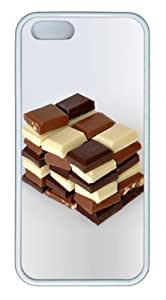 Chocolate TPU White Case for iphone 5/5S by Maris's Diary