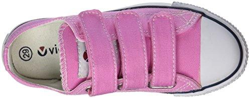 victoria Unisex-Kinder Zapato Basket Velcros Sneaker Pink (Rosa)