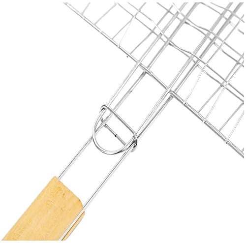 Llxxx-Outil de Barbecue en Plein air pour Panier de Pique-Nique Triple en métal
