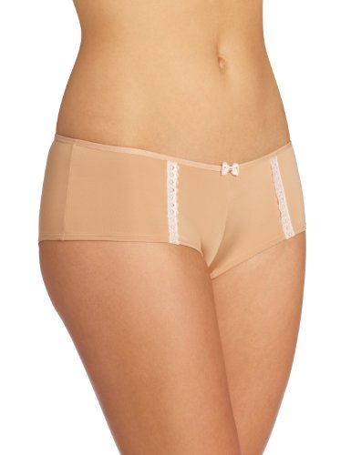 Cleo Women's Jude Hipster Panty, Nude/Pink, 10