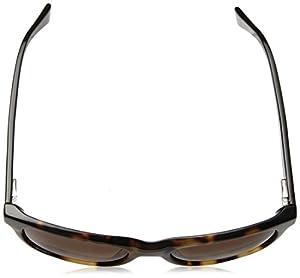 Cole Haan Women's Ch7011 Plastic Rectangular Sunglasses, Soft Tortoise, 54 mm