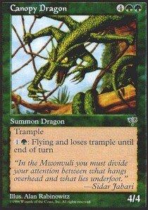 - Magic: the Gathering - Canopy Dragon - Mirage