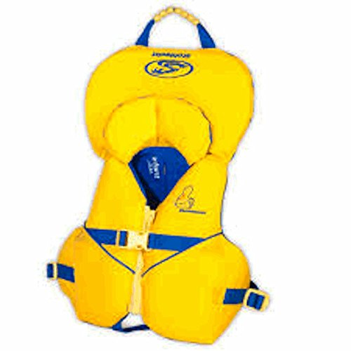 Stohlquist Infant/Toddler Nemo Infant Personal Floatation Device, Yellow, Infant